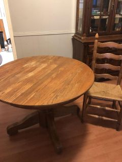 Older table and 4 chairs