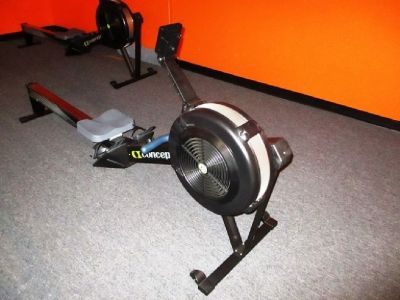 Concept 2 Model D Rower with MP5 Monitor RTR#7093249-06,07