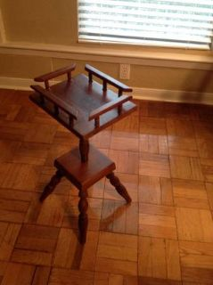 Antique ashtray Table - very nice - REDUCED