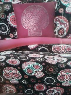 Sugar Skulls bedding