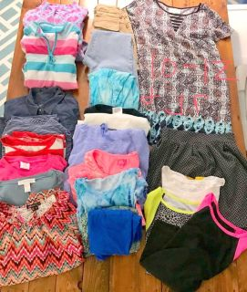 Young girl clothing