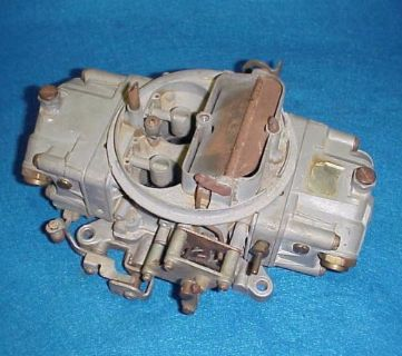 Sell 4777 HOLLEY DOUBLE PUMP CARB CARBURETOR 650 CFM CHEVY FORD DODGE AMC OLDS BUICK motorcycle in Leo, Indiana, United States, for US $159.00