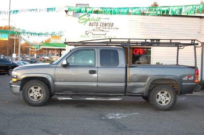 2000 Chevrolet Silverado 1500 LS (Medium Charcoal Gray Met)