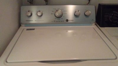 Incredible deal! MAYTAG commercial technology top loading washer with extended warranty transferable to new owner!