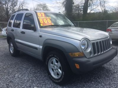 2007 Jeep Liberty Sport (Silver Or Aluminum)