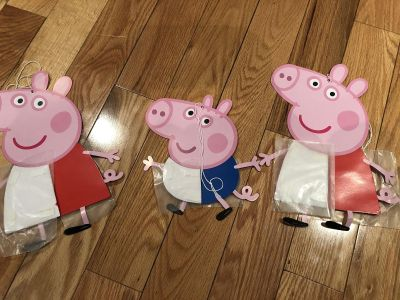 Peppa The Pig Party Decorations Centerpieces