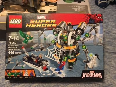 Spider-Man LEGO Set. (Never opened)