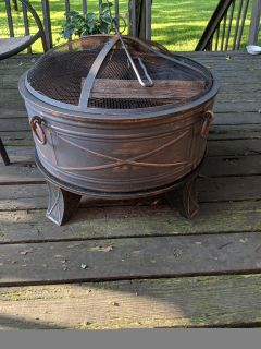 Hampton Bay 26 in. Fire Pit