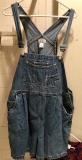 In Due Time Maternity Shorts Overalls
