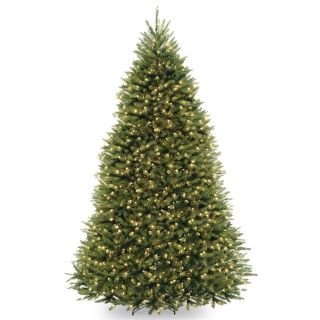 BEAUTIFUL CHRISTMAS TREE - 9.5 FEET TALL WITH CLEAR LIGHTS