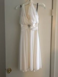 Wedding Dress from David s Bridal Size S