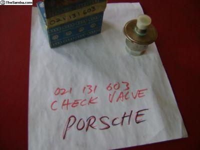 Porsche Valve