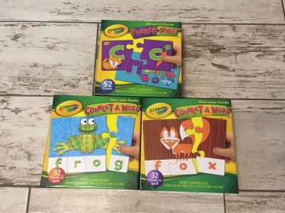 *New* 3 educational puzzles