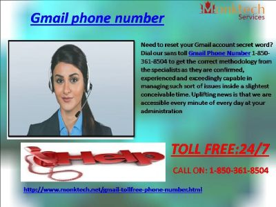Do You fathom Gmail signal Via 1-850-361-8504?