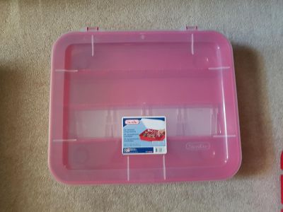 New - Ornament Storage Container