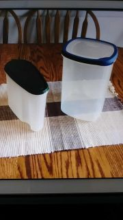 2) Plastic Containers