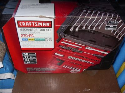 270 pc. set craftsman tools