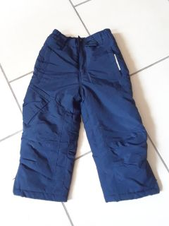 New never worn 4-5 blue thermal snowpants