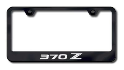 Sell Nissan 370Z (Stylized Z) Laser Etched License Plate Frame-Black Made in USA Gen motorcycle in San Tan Valley, Arizona, US, for US $34.49