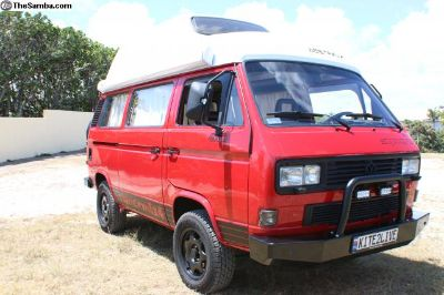 1991 Volkswagen Westfalia Syncro Totally Restored