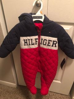 Hooded Winter Jump suit 0-3 months