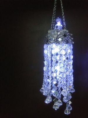 Handmade ladies night light Chandelier