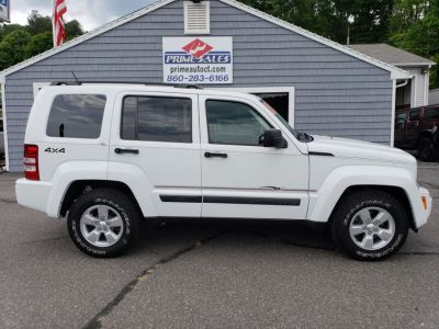 2011 Jeep Liberty Sport (Bright White)