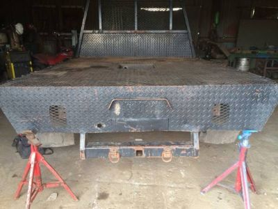 8 flatbed