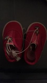 new size infant hot pink cord gym shoes