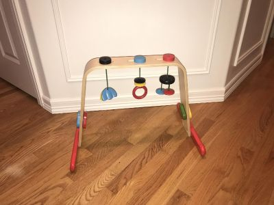 Baby gym - all wood