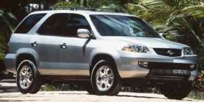 2002 Acura MDX Touring (Starlight Silver Metallic)