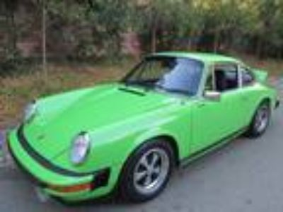 1977 Porsche 911 S Coupe Numbers Matching