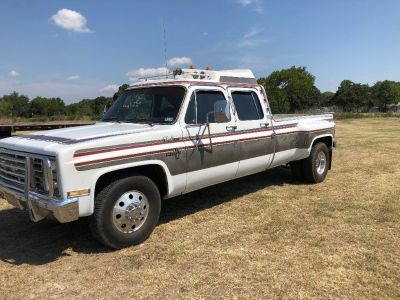 1985 Chevrolet C30 Crewcab Dually, CK3500, Texas truck, Big Block