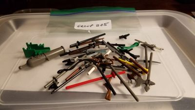 Lego Lot of Weapons Group 205