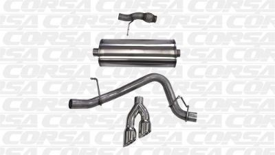 Purchase Corsa Performance 14859 Cat-Back Exhaust System Fits 15 Tahoe Yukon motorcycle in Naples, Florida, United States, for US $1,128.01