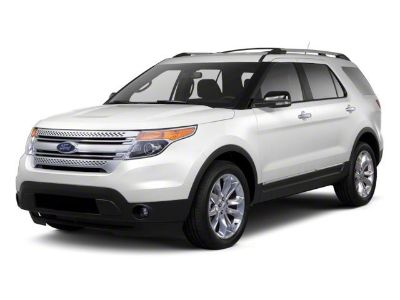 2011 Ford Explorer Limited (White)