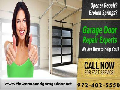 Get Professional Garage Door Opener Repair and Installation Flower Mound