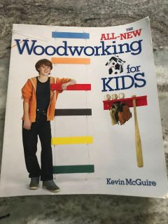 NEW Woodworking book