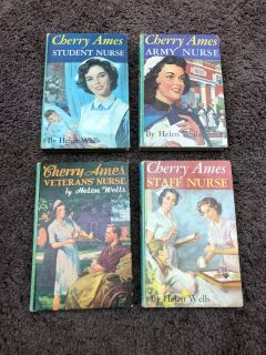 Cherry Ames Staff Nurse Vintage Books