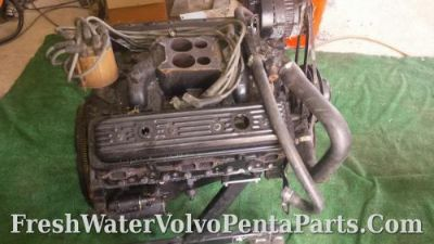 Sell Volvo Penta V8 5.7L Gi Marine 350 Engine / Motor 364 hours bowtie Intake 160 lbs motorcycle in North Port, Florida, United States, for US $1,599.00