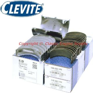 "Find New Clevite H Series .001"" Under Rod & Main Bearing Set 350 327 305 383 Chevy sb motorcycle in Indianola, Iowa, United States, for US $154.59"