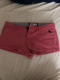 Abercrombie pink shorts