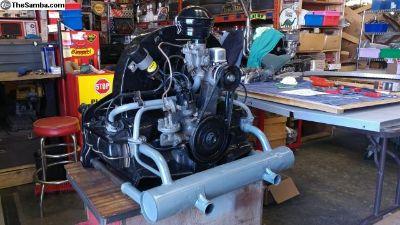Rebuilt 36 H.P. Engine. All German Parts