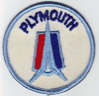 Find VINTAGE PLYMOUTH PATCH FOR JACKET HAT CAR CLUB COAT RAT HOT ROD OLD UNIFORM HEMI motorcycle in Sacramento, California, United States, for US $13.99