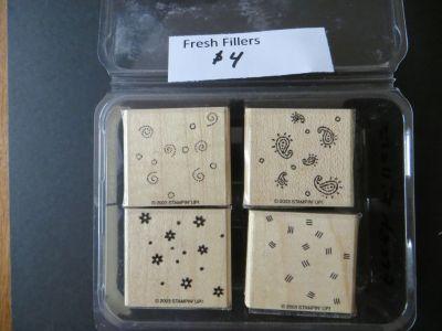 Stampin Up Fresh Fillers Stamp Set