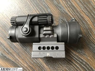 For Sale: Aimpoint Comp M2 2moa Scalarworks LDM210 1/3 co-witness mount