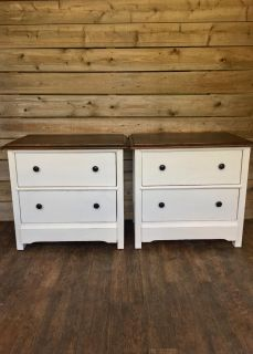 Matching Farmhouse Night Stands