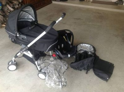 Like new complete set Maxi cosi stroller set
