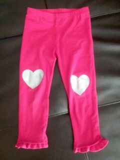 Red and silver heart knee 3t