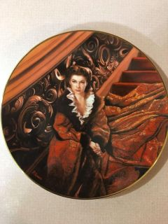 GONE WITH THE WIND COLLECTOR PLATE - IN BOX WITH CERTIFICATE
